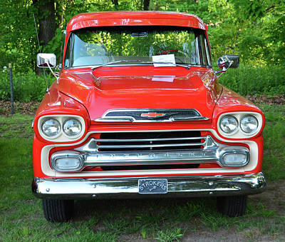 Photograph - 1959 Chevrolet Pickup Truck by Mike Martin