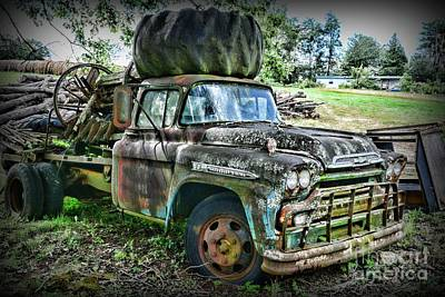 Photograph - 1959 Chevrolet Viking 60 by Paul Ward
