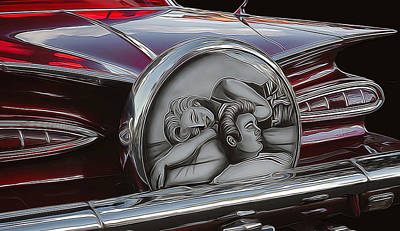 Photograph - 1959 Chevy Impala 2 by Ginger Wakem