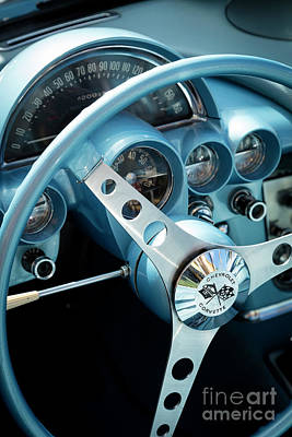 Photograph - 1959 Corvette by Brian Jannsen