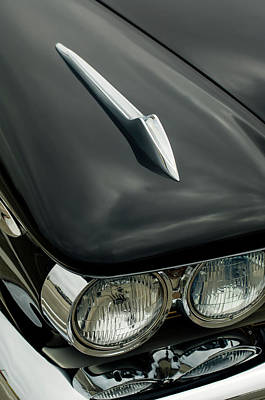 Photograph - 1959 Desoto Adventurer Convertible Hood Ornament by Jill Reger