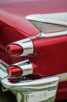 Photograph - 1959 Dodge Custom Royal Super D 500 Taillight by Jill Reger