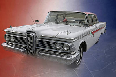Photograph - 1959 Edsel by Donna Kennedy