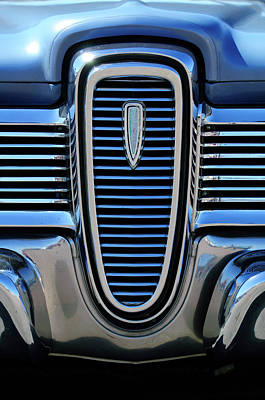 Photograph - 1959 Edsel Villager Grille by Jill Reger
