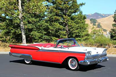 Photograph - 1959 Ford Fairlane 500 by Steve Natale