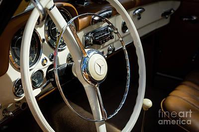 Photograph - 1959 Mecedes Benz 190l by Brian Jannsen