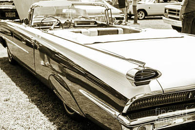 Photograph - 1959 Oldsmobile Convertible 5539.24 by M K Miller