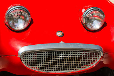 Photograph - 1959 Sprit Austin Healy Bug Eye by James BO  Insogna
