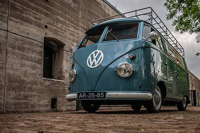 Photograph - 1959 Volkswagen T1 Panel Van by Wim Slootweg