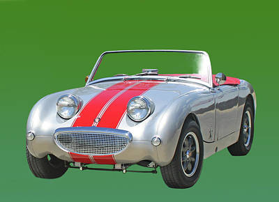 Photograph - 1960 Austin Healey Bugeye Sprite by Jack Pumphrey