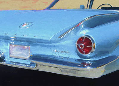 Digital Art - 1960 Buick Invicta Tailfin by David King