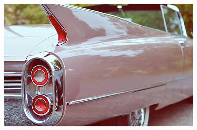 Photograph - 1960 Caddy by La Dolce Vita