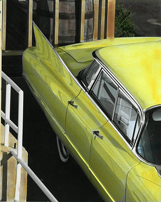 Photograph - 1960 Cadillac by Jim Mathis