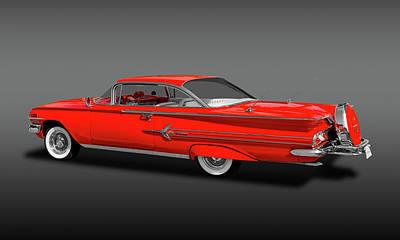Photograph - 1960 Chevrolet Impala 2-door Hardtop   -   1960chevimphdtopfa170396 by Frank J Benz