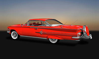 Photograph - 1960 Chevrolet Impala 2-door Hardtop   -   1960chevyimpalahdtp170396 by Frank J Benz