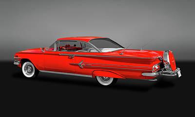 Photograph - 1960 Chevrolet Impala 2-door Hardtop  -   60chevimpalahdtopgry170396 by Frank J Benz