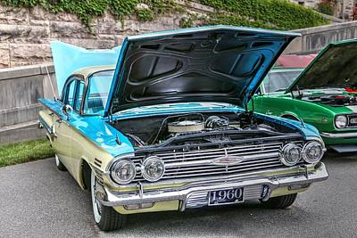 Photograph - 1960 Chevrolet Impala Sport Sedan by Carol Montoya