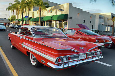 Photograph - 1960 Chevy Impala by Bill Dutting