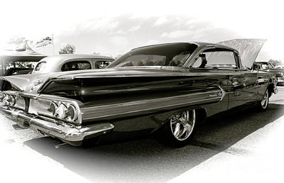 Photograph - 1960 Chevy Impala by Linda Bianic
