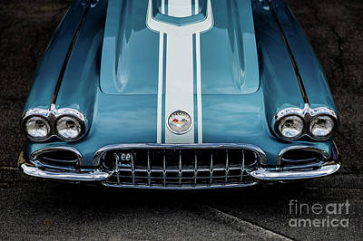 Photograph - 1960 Corvette by Miles Whittingham