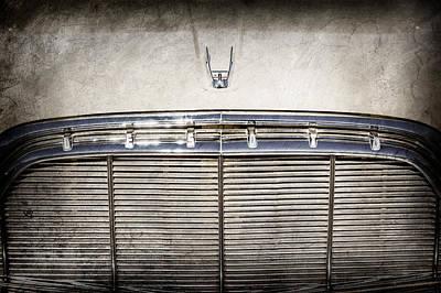 Photograph - 1960 Desoto Fireflite Two-door Hardtop Grille Emblem -0931ac by Jill Reger
