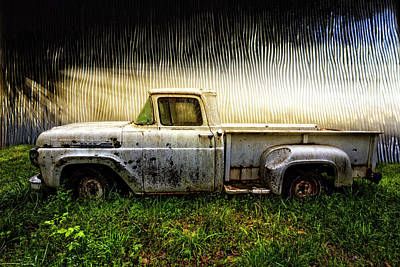 Photograph - 1960 Ford Pickup Truck by Debra and Dave Vanderlaan