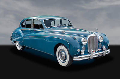 Photograph - 1960 Jaguar Mark Ix Saloon Car - 1 by Frank J Benz