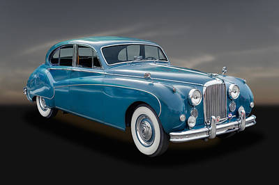 Photograph - 1960 Jaguar Mark Ix Saloon Car - 2 by Frank J Benz