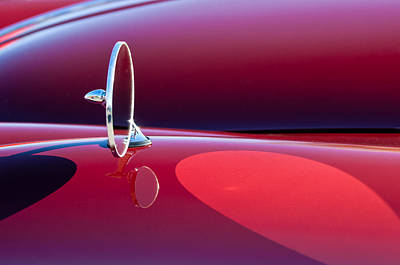 Photograph - 1960 Jaguar Xk150 Roadster Side View Mirror by Jill Reger