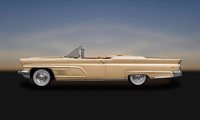Photograph - 1960 Lincoln Continental Mark V Convertible  -  60lincon800  by Frank J Benz