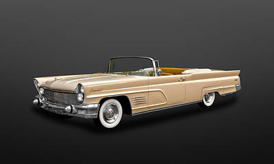 Photograph - 1960 Lincoln Continental Mark V Convertible  -  60lincontcv400 by Frank J Benz