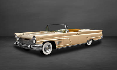 Photograph - 1960 Lincoln Continental Mark V Convertible  -  60linmkvcv500 by Frank J Benz