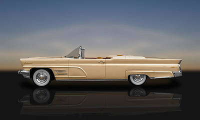 Photograph - 1960 Lincoln Continental Mark V Convertible  -  60linmkvrflt700 by Frank J Benz