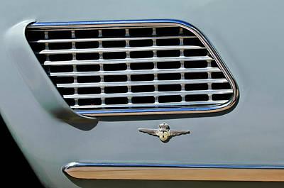 Photograph - 1960 Maserati Emblem by Jill Reger