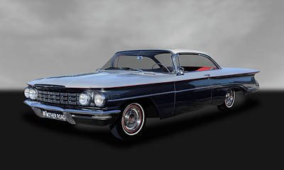 Photograph - 1960 Oldsmobile Dynamic 88 Coupe  -  60oldsdy0888 by Frank J Benz