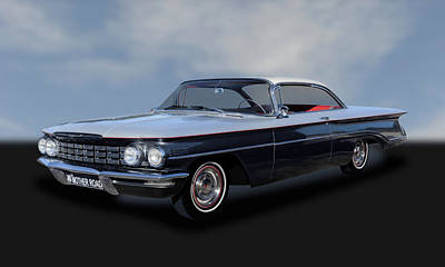 Photograph - 1960 Oldsmobile Dynamic 88 Hardtop Coupe  -  1960oldsdy888 by Frank J Benz
