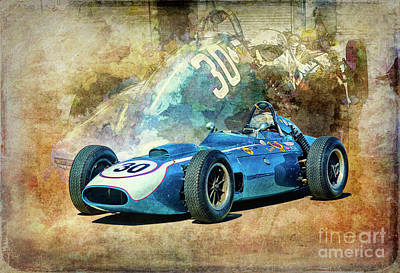 Photograph - 1960 Scarab F1 Car by Stuart Row