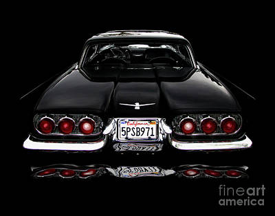 Photograph - 1960 Thunderbird Hardtop Coupe by Peter Piatt