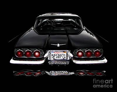 1960 Thunderbird Hardtop Coupe Art Print by Peter Piatt