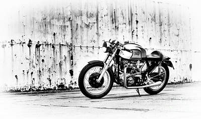 Photograph - 1960 Triton Cafe Racer by Tim Gainey