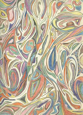 1960s Dna Art Print
