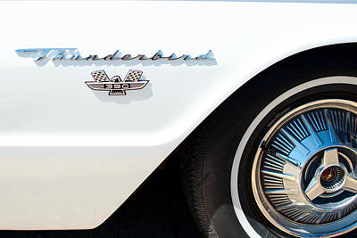 Photograph - 1960s Ford Thunderbird by Rospotte Photography