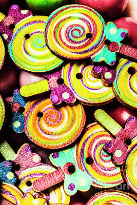 Confectionery Photograph - 1960s Hypnotic Sweetness by Jorgo Photography - Wall Art Gallery