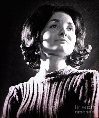 Photograph - 1960's Model Portrait 2 by Joan-Violet Stretch