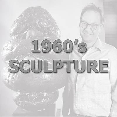 Sculpture - 1960's Scuplture by Robert F Battles