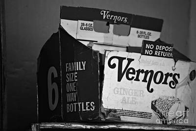 1960's Vernors Box. No Deposit, No Rerurn  Art Print by Sandra Church