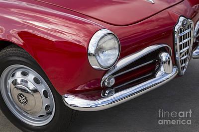 Photograph - 1961 Alfa Romeo Giulietta Spider by Dennis Hedberg