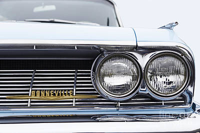 Photograph - 1961 Bonneville Grille by Dennis Hedberg