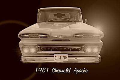 Photograph - 1961 Chevrolet Apache by David and Lynn Keller