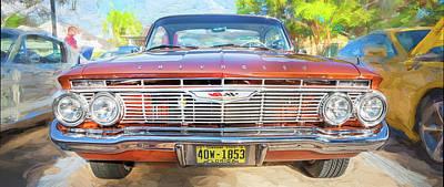 Photograph - 1961 Chevrolet Impala Ss  by Rich Franco